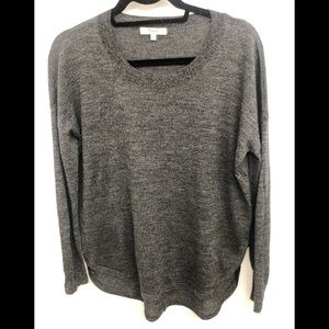Madewell Charcoal Grey thin Wool Sweater